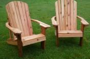Cedar Adirondack Chairs
