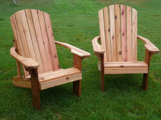 Cedar Adirondack Chairs - James Archer Furniture