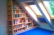 Sugar Maple Angled bookcase