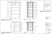 Creating Computer Aided Design CAD drawings for all furniture projects