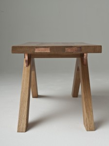 Side Coffee Table End