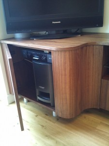 TV Stand DVD Storage