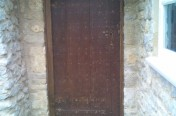 Reclaimed Oak Door and Frame Blacksmith Ironmongery
