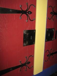 Blacksmith Ironwork hinges lock