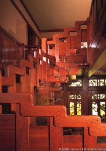 Interior joinery staircase