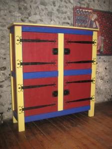 Oak Castle Armoire Tradition Furniture