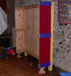 Oak Reproduction Furniture Cupboard Armoire