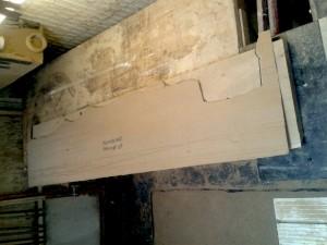 Shelf Template Fitting Installation