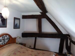 Oak Beams Old Cottage Built In Cupboard storage