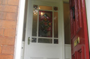 Victorian Entrance Door Stained Glass