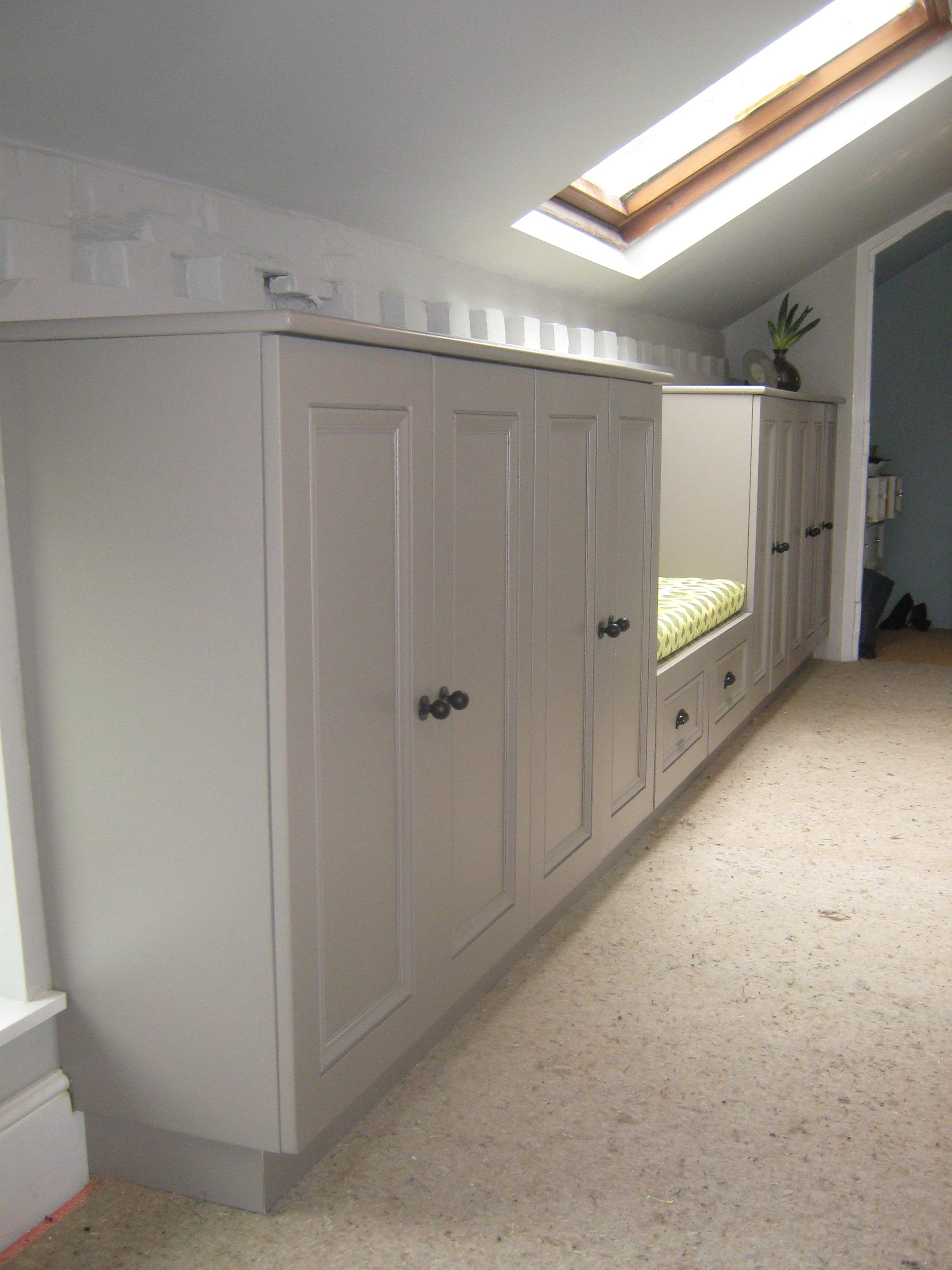 Painted Hallway Storage Ideas Cabinets Hallway Seat Window Seat