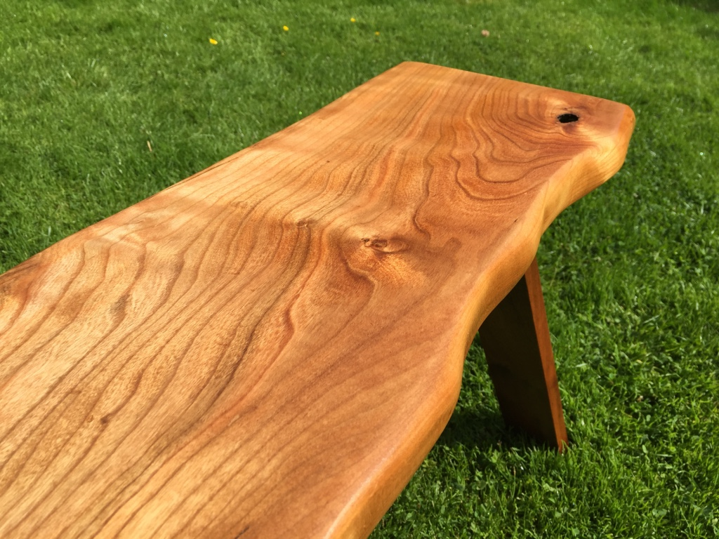 Prime Grain Edge Natural Wood Seat Bench Table James Archer Spiritservingveterans Wood Chair Design Ideas Spiritservingveteransorg