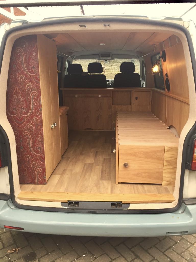 Vw Campervan Conversion James Archer Furniture
