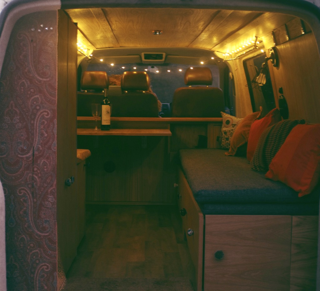 VW Campervan Conversion - James Archer Furniture