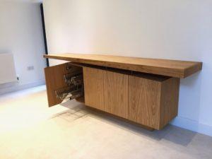 Internal drawer baskets, excellent storage furniture